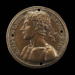 Image for Self-Portrait [obverse]; The Artist with the Genius of Death [reverse]