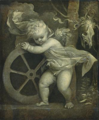 Image for Cupid with the Wheel of Time