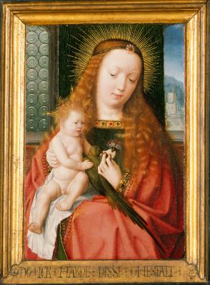 Image for The Madonna and Child with a Member of the Hillensberger Family