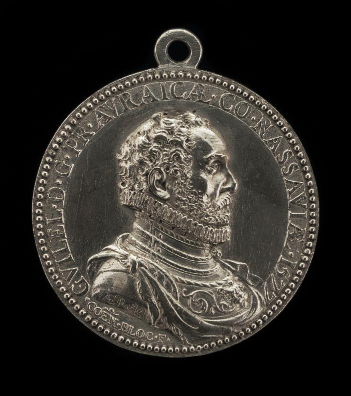 Image for Willem I, 1533-1584, Prince of Orange and Nassau [obverse]; Charlotte de Bourbon [reverse]