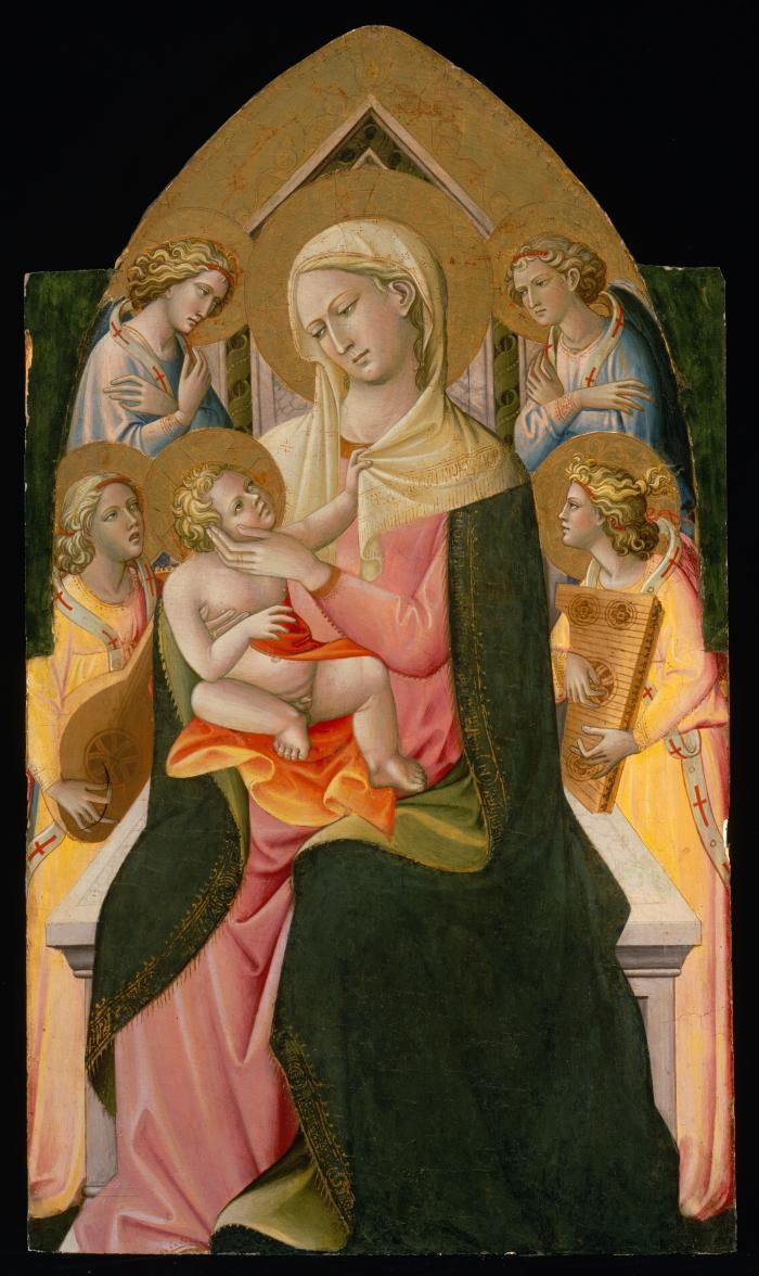 Image for Madonna and Child with Angels