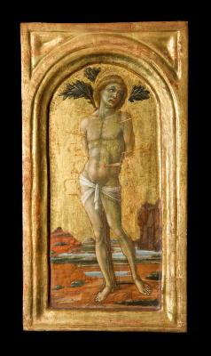 Image for Saint Sebastian, Saint Ursula, and Saint Christopher