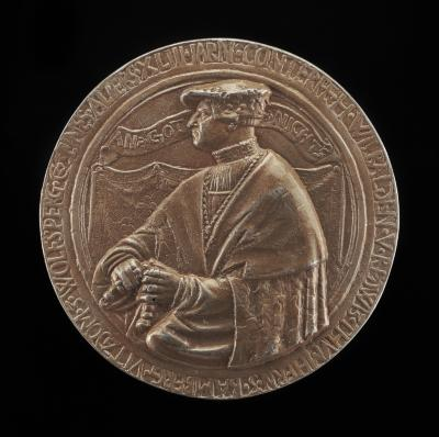 Image for Willibald von Redwitz, 1493-1544, Canon of Bamberg [obverse]; Coat of Arms [reverse]