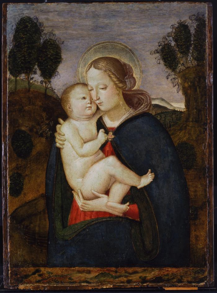 Image for Madonna and Child in a Landscape