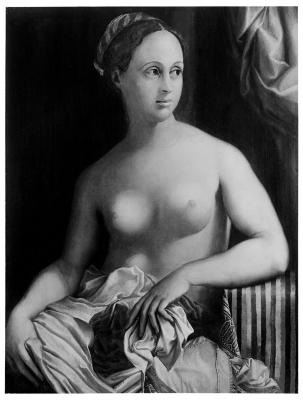 Image for Portrait of a Girl as Venus (Fornarina)
