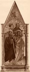 Image for Four Saints, full length, with Angels Above