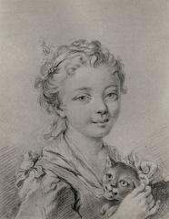 Image for Girl with a Cat