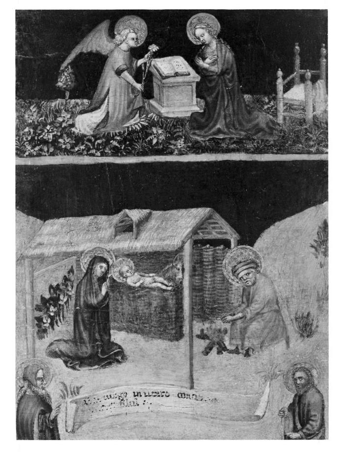Image for The Annunciation and the Nativity