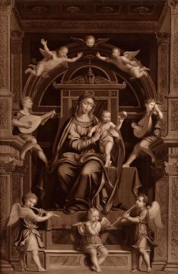 Image for Madonna, Child, Saints, etc.