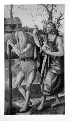 Image for Saints Onuphrius and John the Baptist
