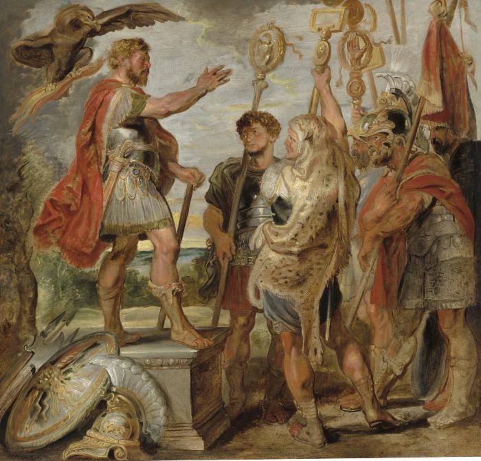 Image for Decius Mus Addressing the Legions