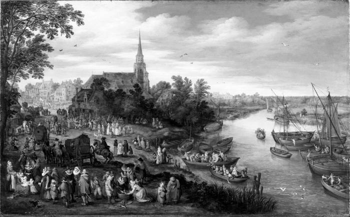 Image for Village Scene