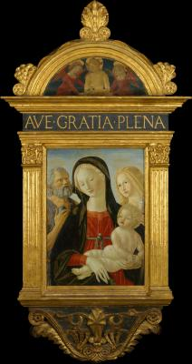 Image for Madonna and Child with Saints Jerome and Mary Magdalen