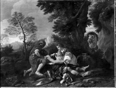 Image for Erminia and Vafrino Tending the Wounded Tancred