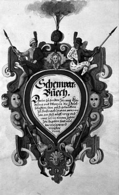 Image for Schonbartbuch. 16th Century Illuminated Manuscript