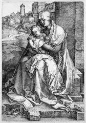 Image for Virgin and Child Seated by the Wall