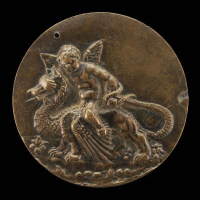 Image for Cupid Riding on a Dragon