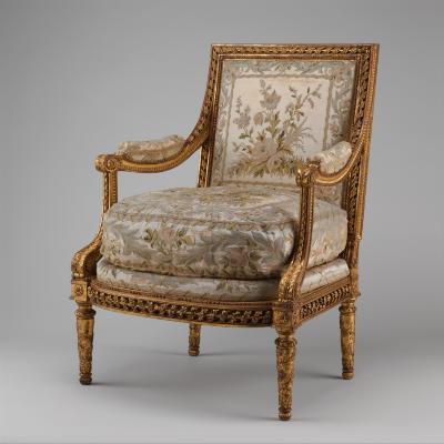 Image for Armchair (Fauteuil à la reine) (one of a pair) (part of a set)