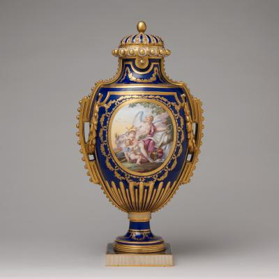 Image for Vase (vase à panneaux or à perles)