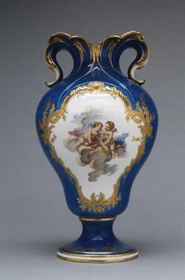 Image for Vase (vase à oreilles) (one of a pair)