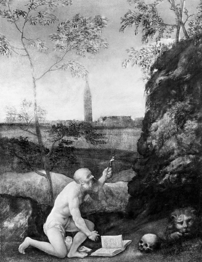 Image for Saint Jerome in Penitence