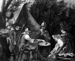 Image for Soldiers Playing Cards