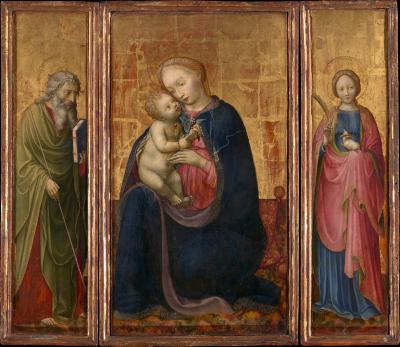 Image for Madonna and Child with Saints Philip and Agnes