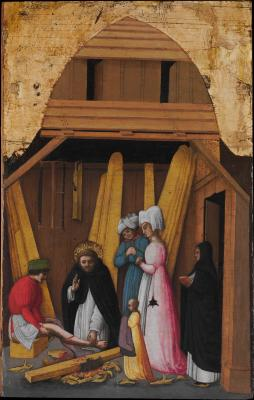 Image for Saint Peter Martyr Healing the Leg of a Young Man