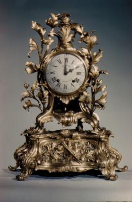 Image for Musical mantel clock (Pendule avec boîte à musique)