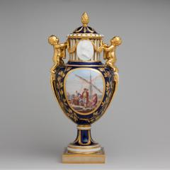 Image for Vase with cover (Vase Paris enfants)