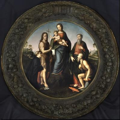 Image for Madonna and Child with Four Saints