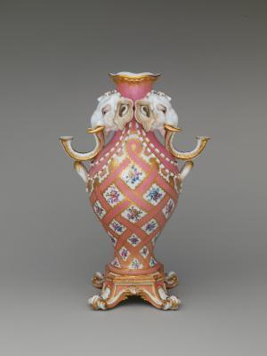 Image for Vase (vase à tête d'éléphant) (one of a pair)