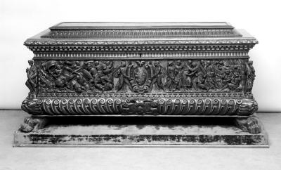 Image for Gilt and Walnut Cassone, from the Barberini Palace, Rome