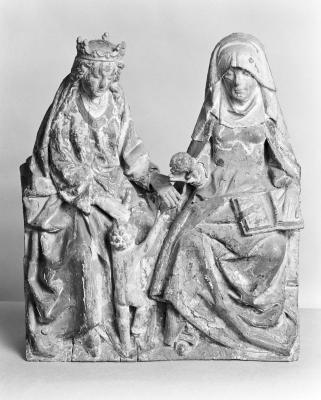 Image for Madonna and Child with St. Anne?