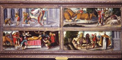 Image for Scenes from the Lives of Saints Bovus and Eligius
