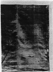 Image for Crimson cut velvet cover, trimmed with gilt galloon