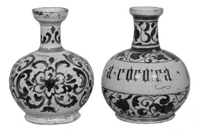Image for Caffagiolo Vase, Decanter Shape