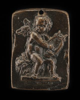 Image for Cupid Playing on a Lyre
