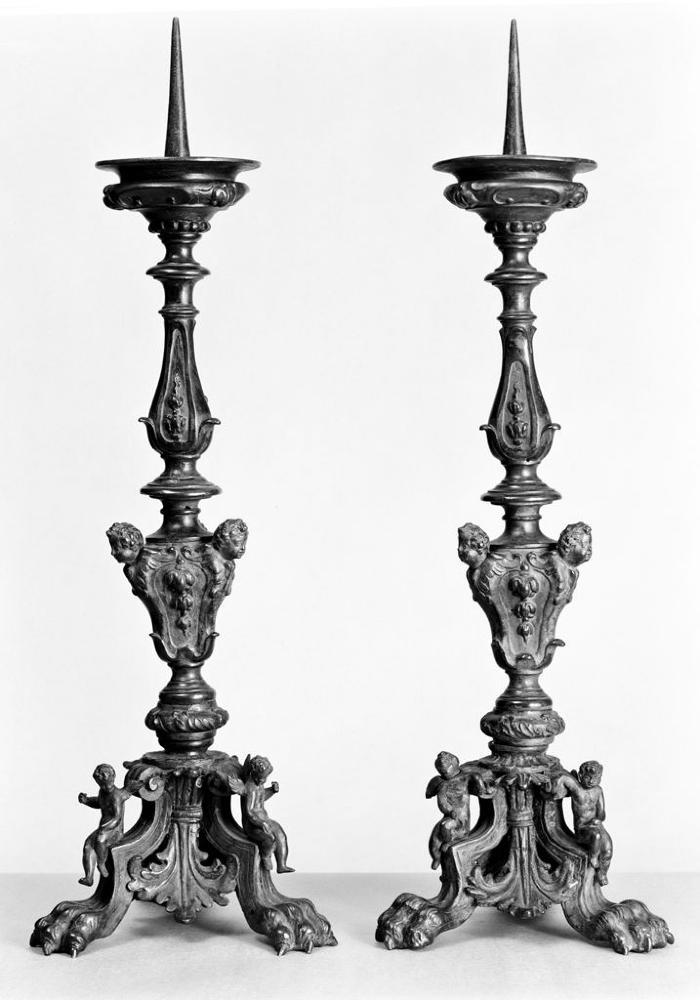 Image for Bronze Candlesticks