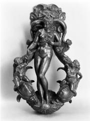 Image for Door-knocker with a Naked Female Figure Facing to the Left