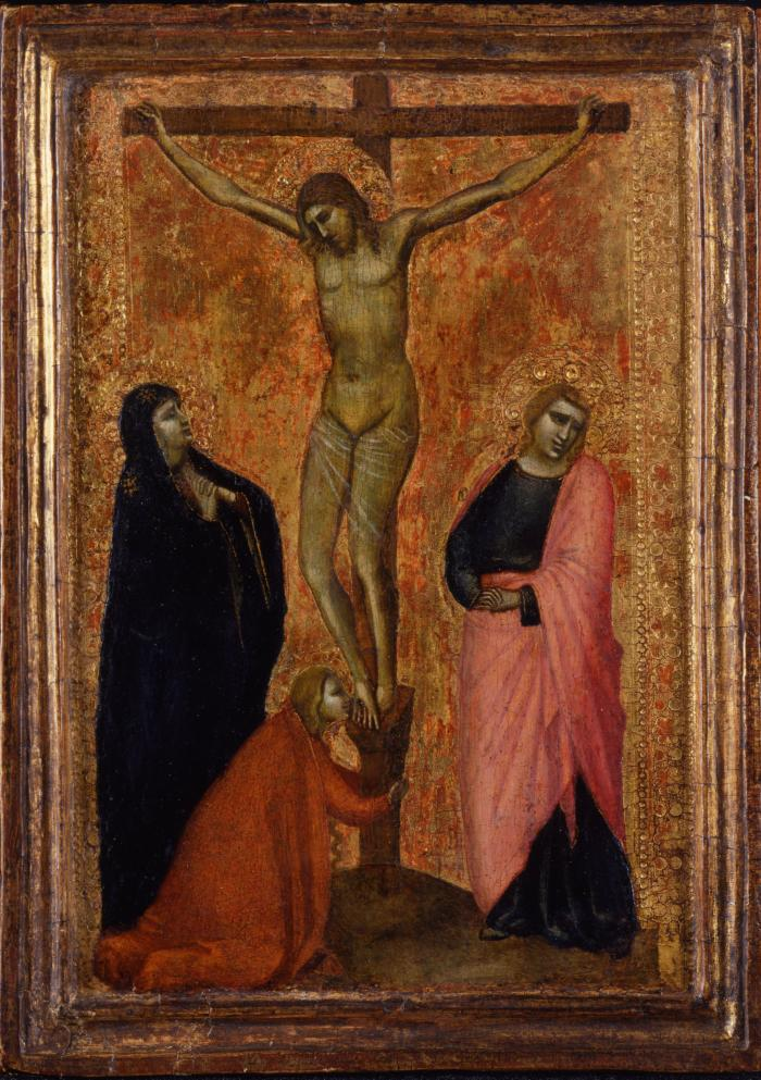 Image for Crucifixion with the Virgin Mary, Saint John the Evangelist, and Saint Mary Magdalene