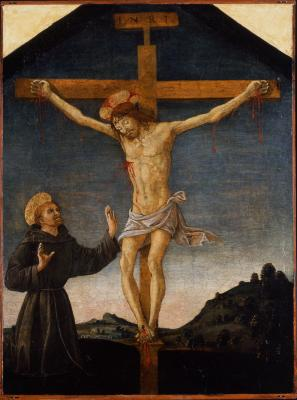 Image for The Crucifixion with Saint Francis