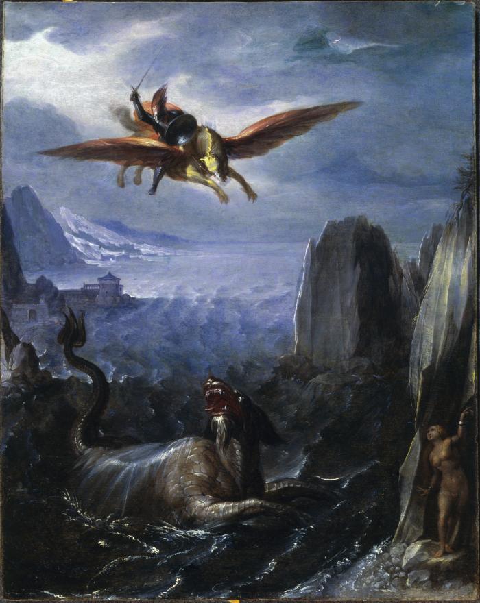 Image for Ruggiero Saving Angelica