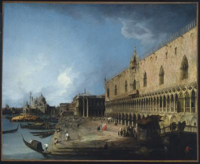Image for View of the Molo, Venice