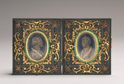 Image for Giangaleazzo Visconti, First Duke of Milan [left half?]