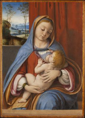 Image for Virgin Nursing with Christ Child (Maria Lactens)
