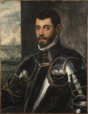 Image for Portrait of a Venetian Commander in Armor