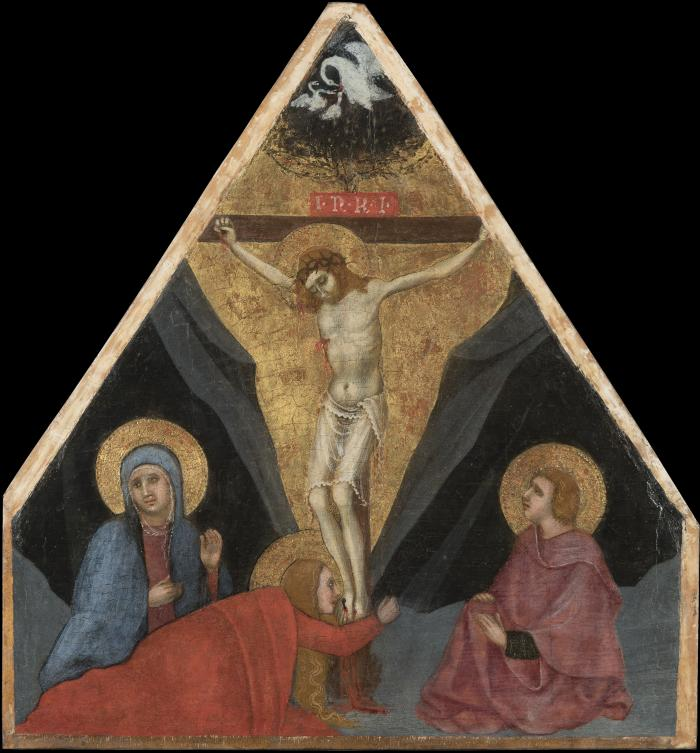 Image for The Crucifixion, with the Virgin, Mary Magdalene and Saint John the Evangelist