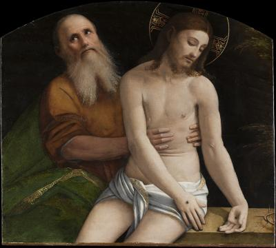 Image for The Dead Christ Sustained by Nicodemus