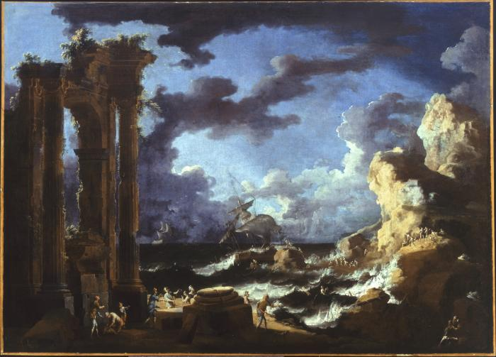 Image for Port of Ostia During a Tempest